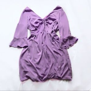 eloquii ⋆ flare sleeve dress